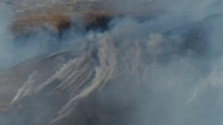 Wildfire Smoke Looms Over the Hillsides of Clonmany, Donegal - Video