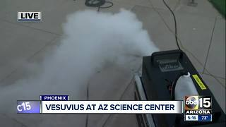 Arizona Science Center hosting 'explosive' event for volcanoes - Video
