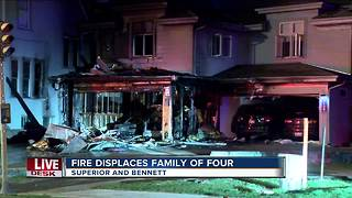 4 people displaced after house fire in Milwaukee's Bay View neighborhood