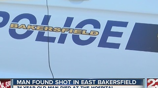 BPD investigating man found in street after being shot - Video