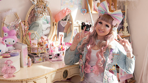 The Real Life Kawaii Princess | HOOKED ON THE LOOK