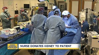 University Hospital technician donates kidney to patient