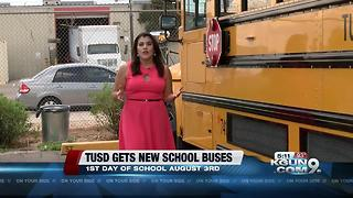 TUSD adds new school buses to fleet - Video