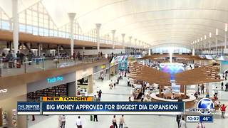Council signs off on $1.5B project to add 39 gates at Denver International Airport - Video