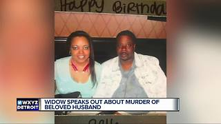 Widow speaks out about murder of beloved husband - Video