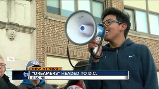 Racine 'Dreamers' head to D.C. to lobby Congress - Video