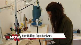 Now Making: Peg's Hardware - Video