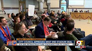 City Council approves West End stadium deal