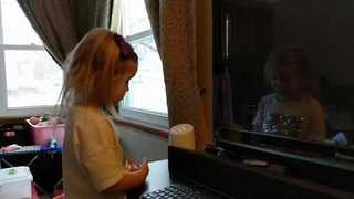 Toddler Trying to Work 'OK Google' Is the Definition of First World Problems - Video