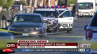 Good Samaritan shot, killed trying to chase down armed robber - Video