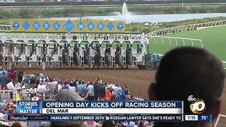 Opening Day kicks off Racing Season - Video