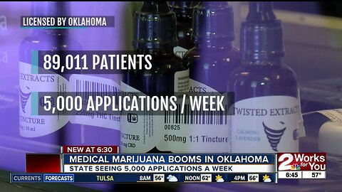 Medical cannabis boom in Oklahoma: 89,011 patient cards issued