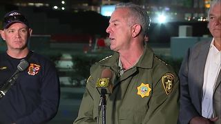 RAW VIDEO: Police give update on mass shooting in Las Vegas
