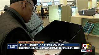 Final hours of Election Day - Video