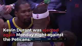 The Warriors Set Record For Startling Amount Of Players Ejected This Season - Video