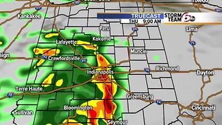 Warmer tomorrow, storms Thursday and then... - Video