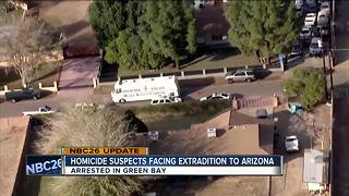 Police identify suspect in Phoenix homicide arrested in Green Bay - Video