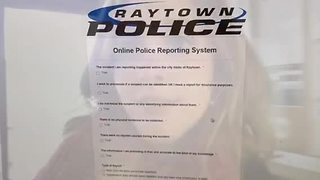 Raytown police launch online crime reporting - Video