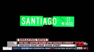 Shooting leaves one woman dead and another man wounded - Video