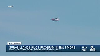 Pilot surveillance plane to launch next month
