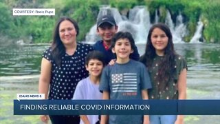 Jerome family's struggle to find reliable COVID-19 information due to language barrier