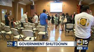 What the government shutdown means for Arizona