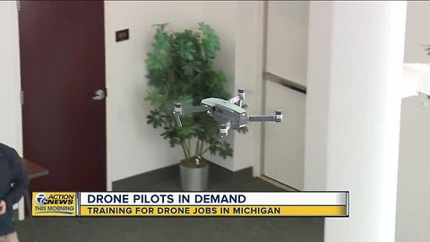 Drone pilots in demand – training for drone jobs in Michigan