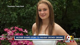 Mother of crash victim honors daughter by helping others