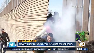 Mexico's new president could change border policy