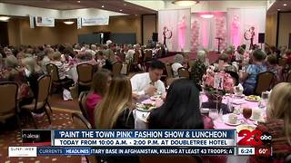 'Paint the town pink' fashion show