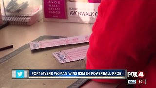 Fort Myers woman wins Powerball prize