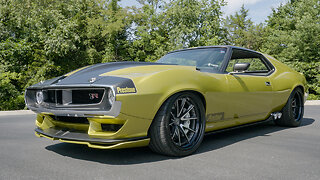 AMX Javelin: The $500,000 Muscle Car | RIDICULOUS RIDES