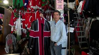 Halloween is hectic for local costumer - Video