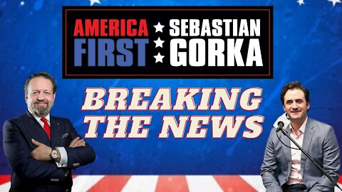 Breaking the news. Breitbart's Alex Marlow with Sebastian Gorka on AMERICA First