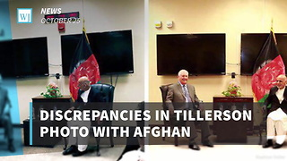 Discrepancies in Tillerson Photo with Afghan President Suggest Possible Photo Manipulation - Video