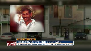 New Port Richey cold case reopened after 20 years - Video