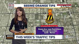 Seeing Orange Traffic Tips June 18 2017