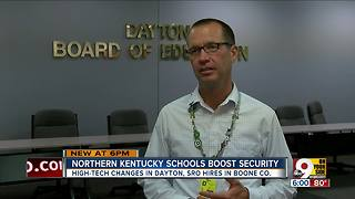 Dayton schools get high-tech security makeover - Video