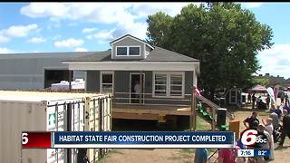 Habitat for Humanity State Fair home completed - Video