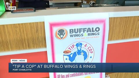 Port Charlotte Buffalo Wings & Rings hosts Tip a Cop fundraiser