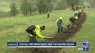 Colorado fire departments prepare for what could be a severe wildfire season