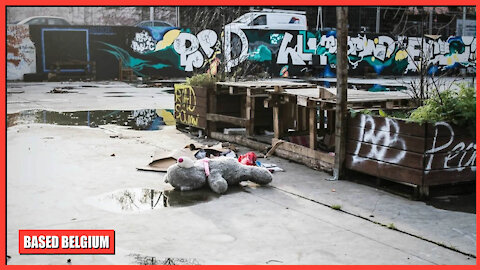 Socialism turned 'Brussels' the once Proud Imperial Capital of 'Belgium' into a Third World Shithole