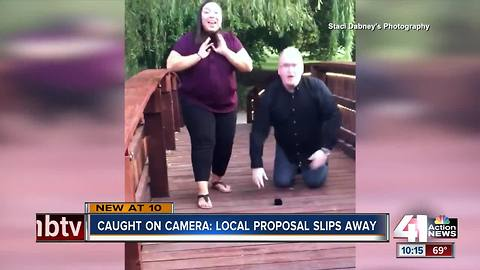 KC couple loses engagement ring during proposal