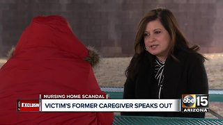 Former caregiver of alleged Hacienda Healthcare sex assault victim speaks to ABC15