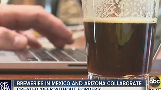Breweries in Mexico, Arizona collaborate