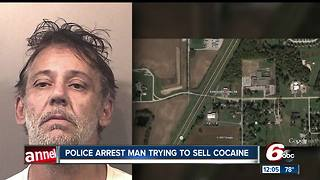 Police: Camby man arrested in Johnson County after cocaine found in truck - Video