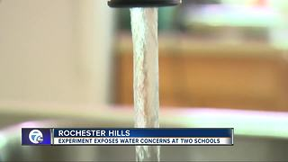 Experiment exposes water concerns at two Rochester Hills schools - Video
