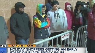 Holiday shoppers getting an early start on Black Friday sales - Video