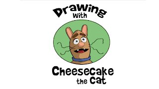 Drawing with Cheesecake the Cat