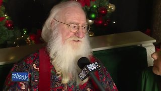 Christmas Eve interview with Santa - Video